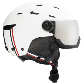 Rossignol Allspeed Visor Impacts Helm Heren, strato white